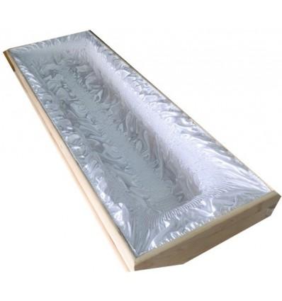Wkład sarkofag (130cm) bez koronki brzeg 2 igły podwinięty